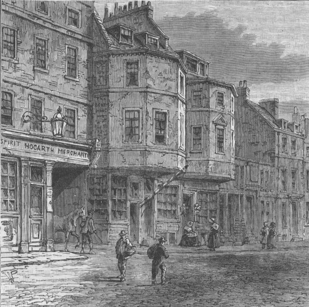Associate Product WESTMINSTER. House said to have been occupied by Oliver Cromwell. London c1880
