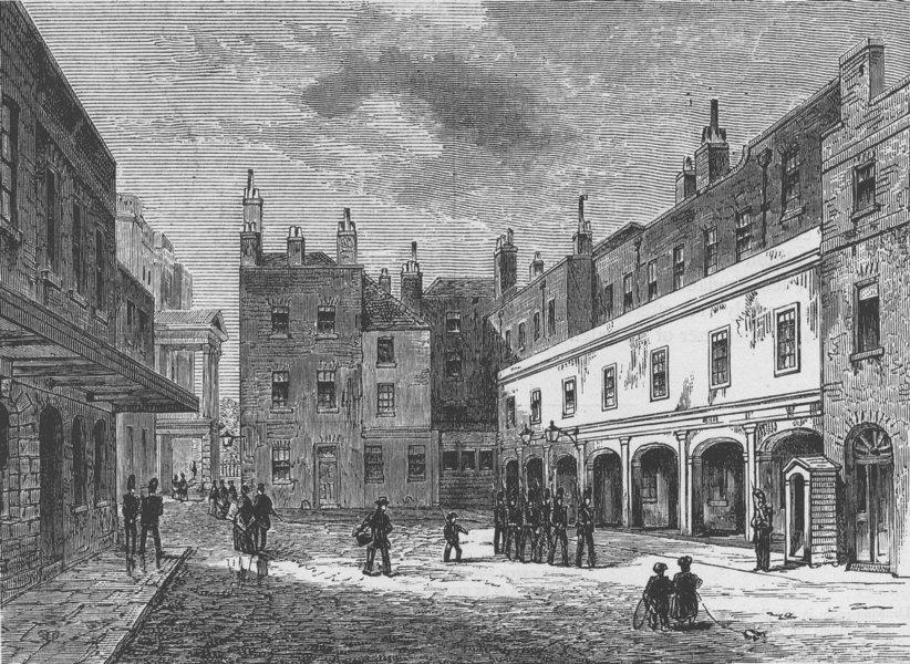 Associate Product ST.JAMES'S PALACE Ambassadors Court 1875. Duke of Cumberland's Valet died c1880