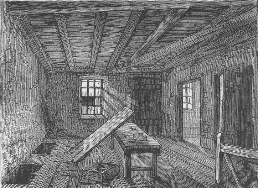 Associate Product MARYLEBONE. The loft used by the Cato Street conspirators, 1820. London c1880