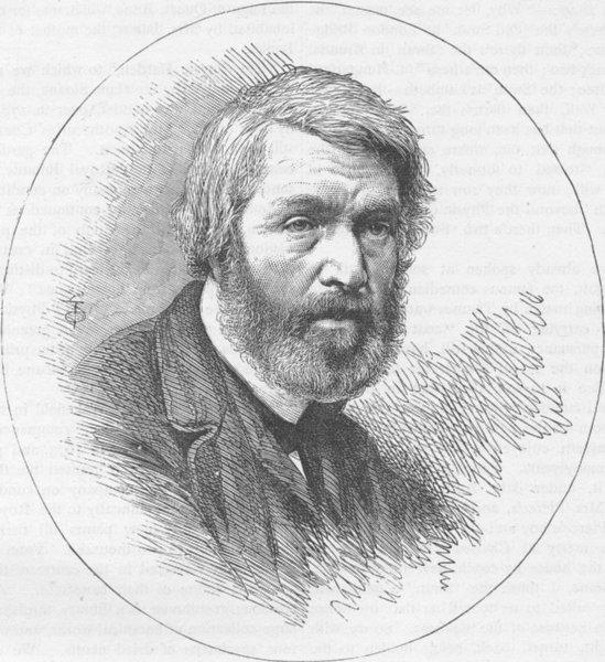 Associate Product CHELSEA. Thomas Carlyle. London c1880 old antique vintage print picture