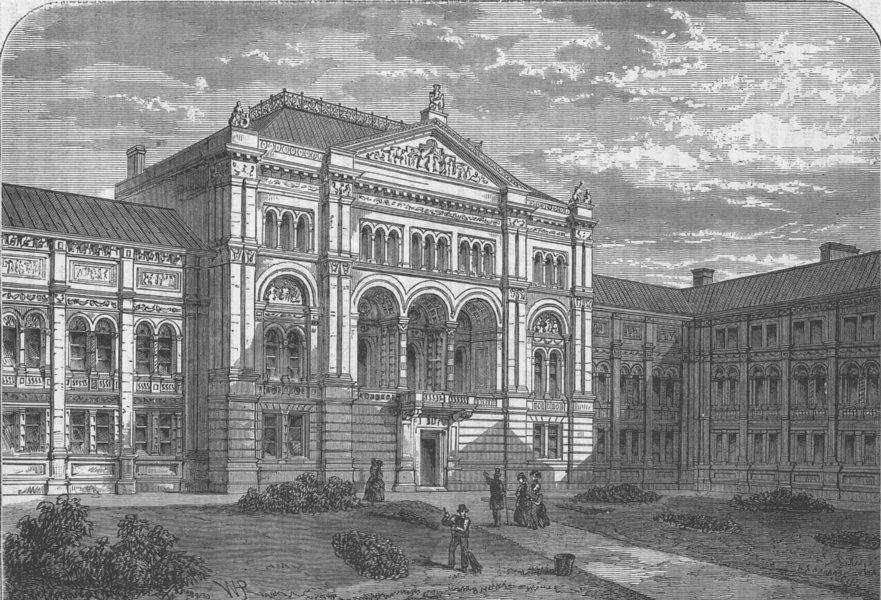 Associate Product VICTORIA & ALBERT MUSEUM The Court of the South Kensington Museum. London c1880