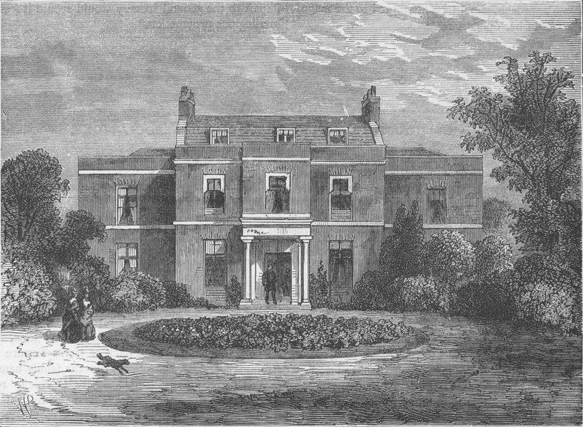 Associate Product HOLLAND PARK. Earl's Court House (formerly John Hunter's House). London c1880