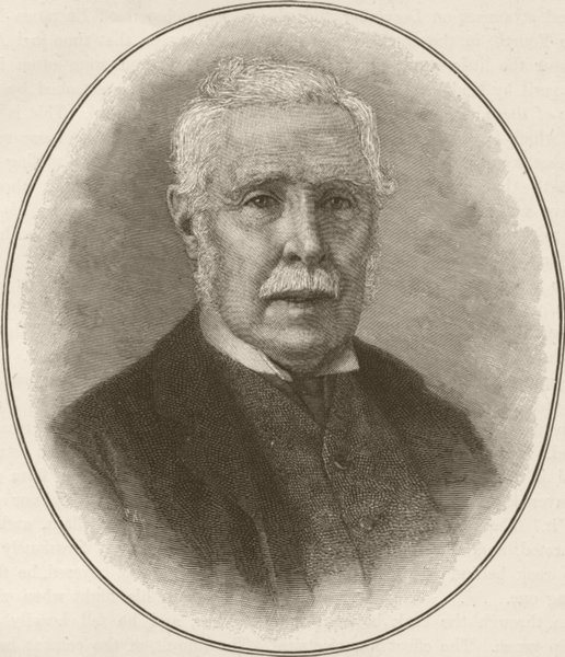 Associate Product AUSTRALIA. George Grey- 1890 old antique vintage print picture