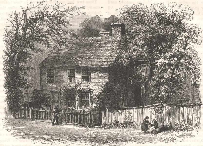 Associate Product RHODE ISLAND. Providence house, prayer mtg, Williams c1880 old antique print