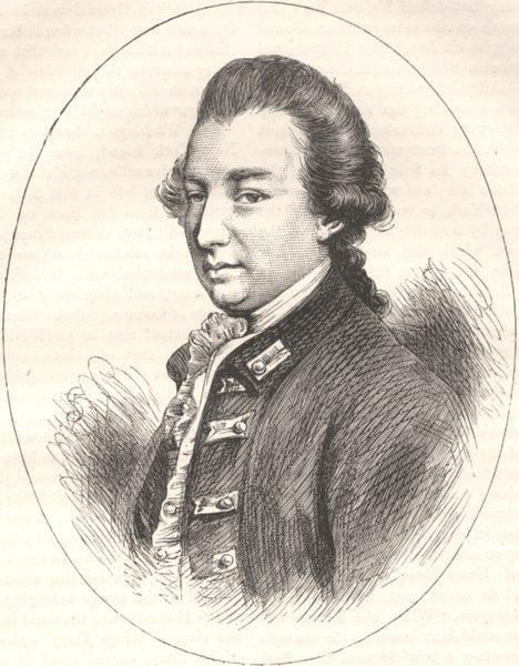 Associate Product PEERS. Lord Cornwallis c1880 old antique vintage print picture