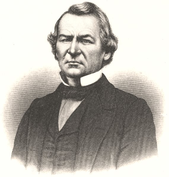 Associate Product USA. Andrew Johnson, 17th President, US c1880 old antique print picture