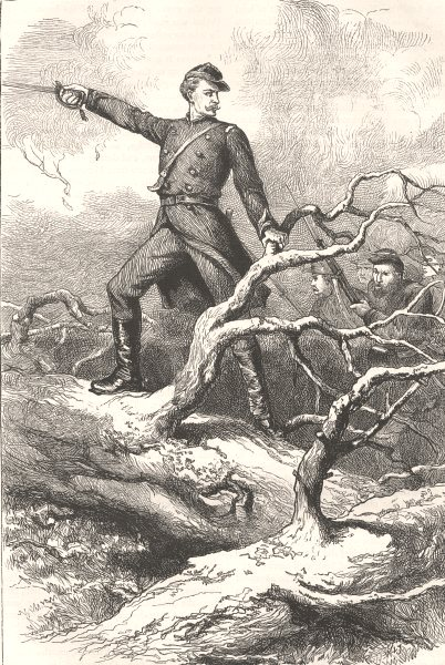 Associate Product VIRGINIA. Civil War. Capt Winthrop, big bethel c1880 old antique print picture