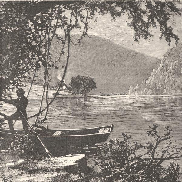 Associate Product VIRGINIA. Civil War. James River c1880 old antique vintage print picture
