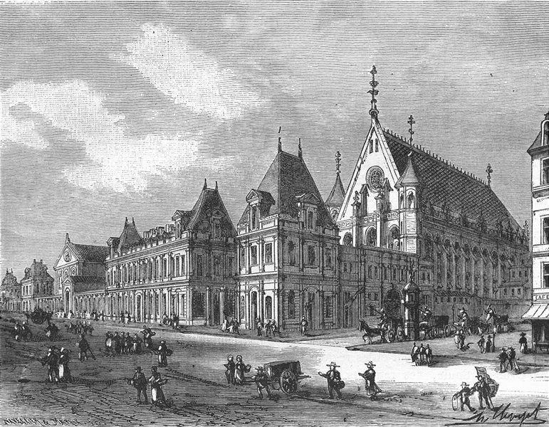 Associate Product PARIS. Conservatoire Arts Metiers 1881 old antique vintage print picture