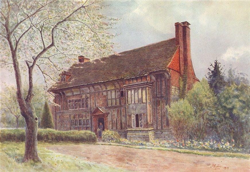 Associate Product LINGFIELD. Old Surrey Hill. Surrey 1914 antique vintage print picture