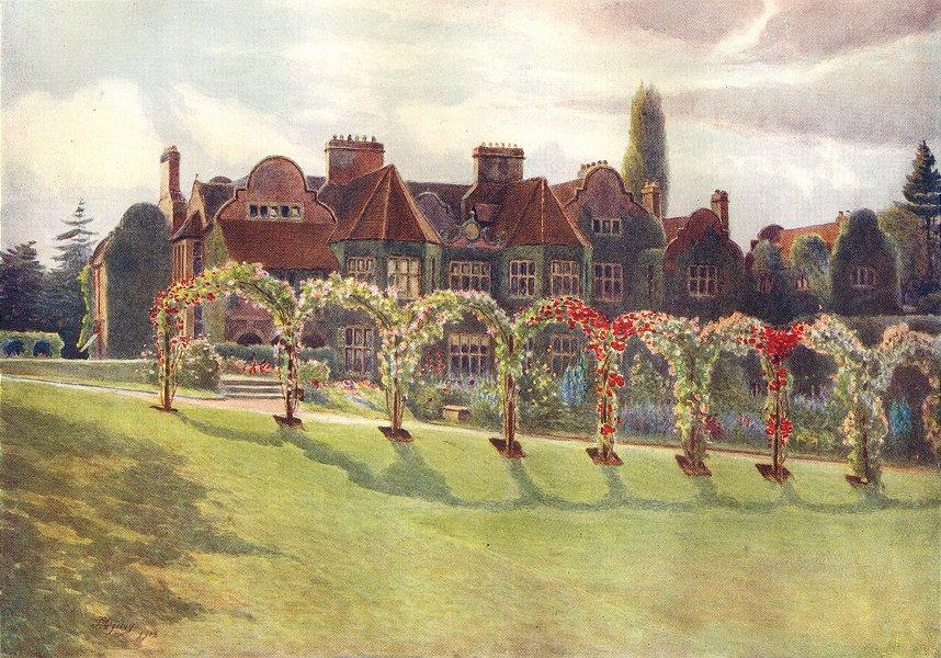 Associate Product DORKING. Milton Court. Surrey 1914 old antique vintage print picture