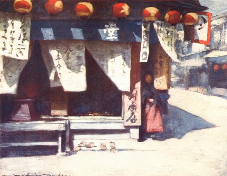 Associate Product JAPAN. Sun & Lanterns 1904 old antique vintage print picture