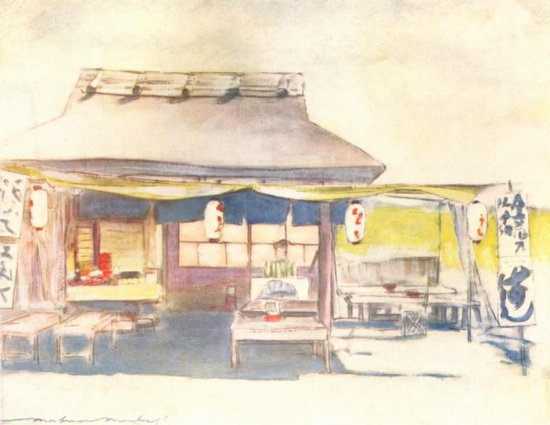 Associate Product JAPAN. Empty Tea House 1904 old antique vintage print picture