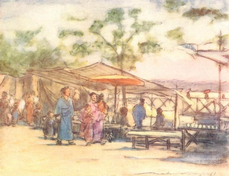 Associate Product JAPAN. Day & Fete 1904 old antique vintage print picture
