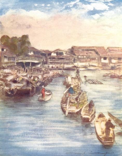Associate Product JAPAN. Venice of 1904 old antique vintage print picture