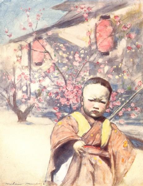 Associate Product JAPAN. Advance 1904 old antique vintage print picture