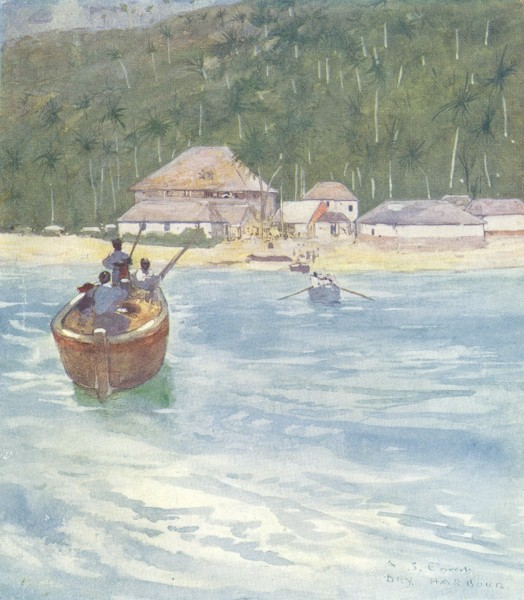 WEST INDIES. Dry Harbour, Jamaica 1905 old antique vintage print picture