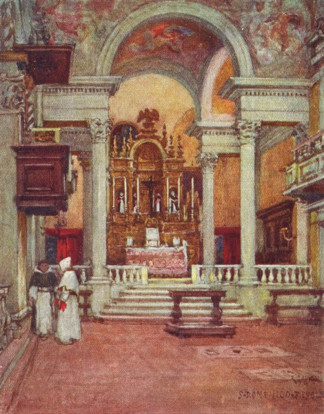 Associate Product FIESOLE. Convent Church of the Dominicans  at San Domenico di Fiesole 1905
