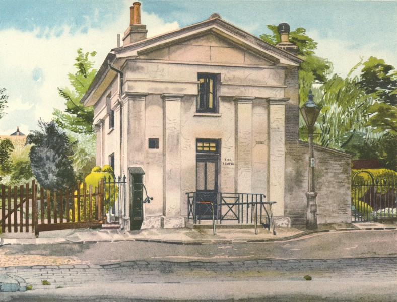 Associate Product LONDON. The Gardener's Lodge, Edwardes Square, W8. By Phyllis Dimond 1946