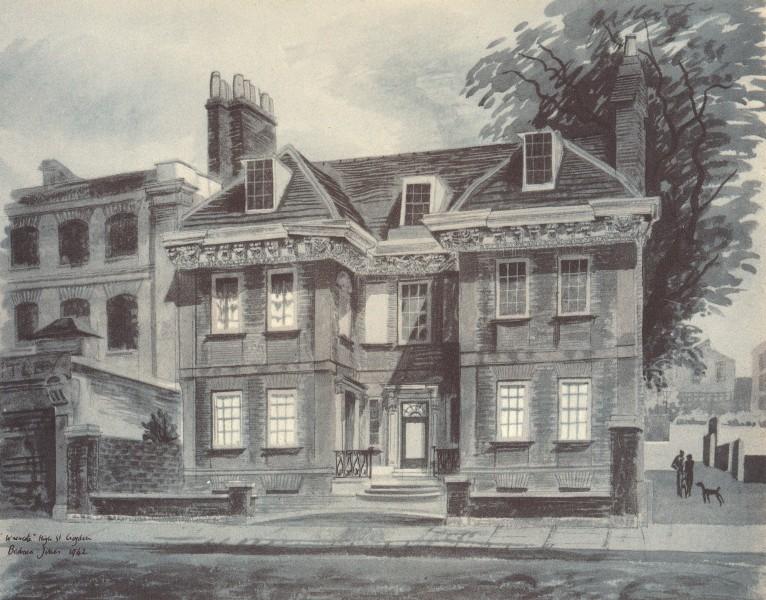 Associate Product CROYDON. Wrencote, High Street. London. By Barbara Jones 1946 old print