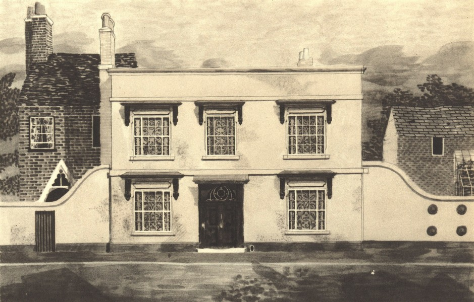 Associate Product AMPTHILL. 81 Dunstable Street. Bedfordshire. By Kenneth Rowntree 1946 print
