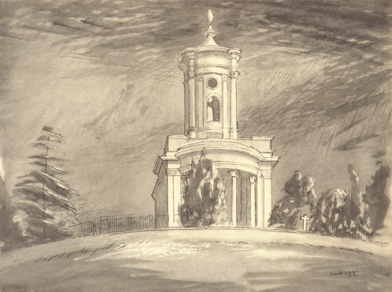 Associate Product NORMANTON. St. Matthew's. Northamptonshire. By John Piper 1947 old print