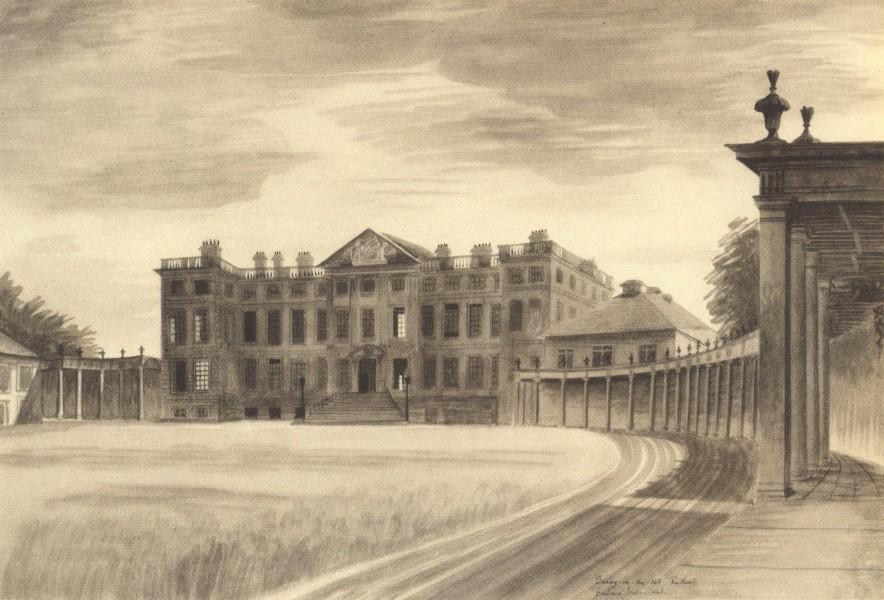 NORTHAMPTONSHIRE. Burley-on-the-Hill. By Barbara Jones 1947 old vintage print