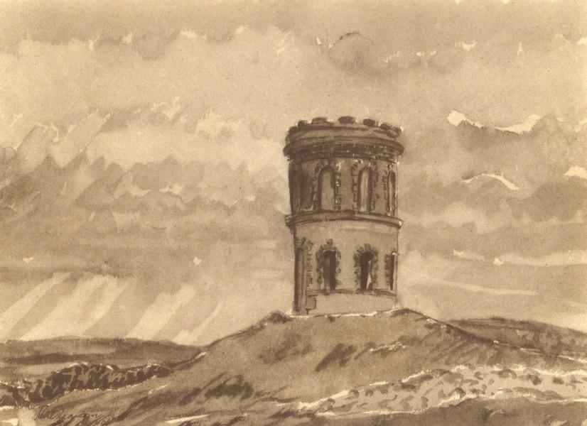 Associate Product BUXTON. Solomon's Temple. Derbyshire. By Karl Hagedorn 1948 old vintage print