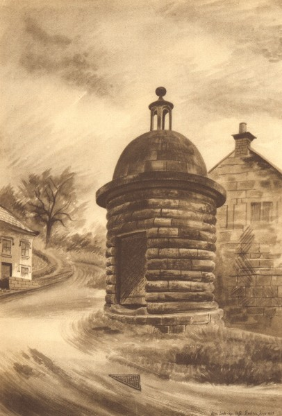 Associate Product ALTON. The Round House. Staffordshire. By Barbara Jones 1948 old vintage print