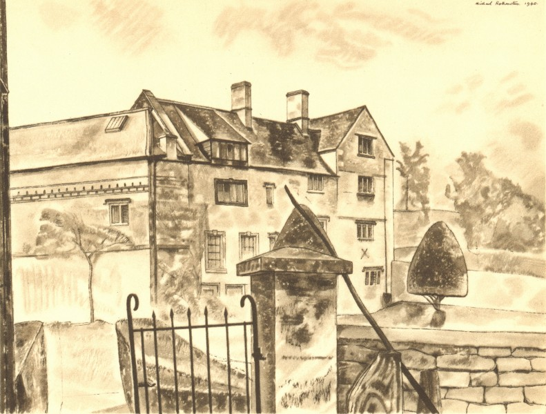 Associate Product PAINSWICK. King's Mill House. Gloucestershire. By Michael Rothenstein 1948