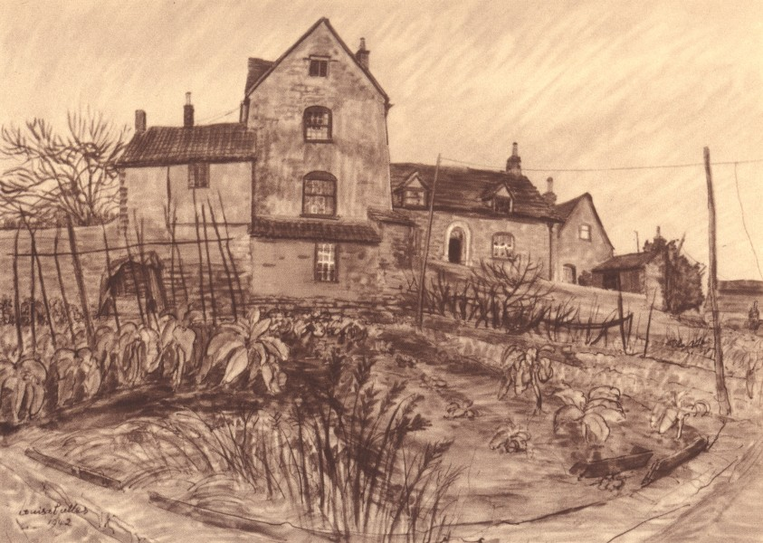 Associate Product MALMESBURY. Culver House. Wiltshire. By Louisa Puller 1949 old vintage print