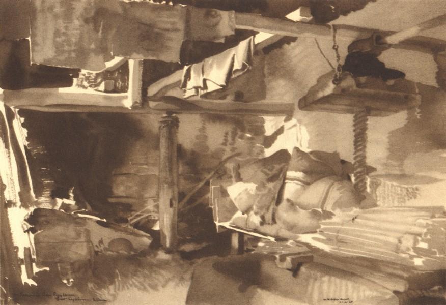 Associate Product HARBERTON. Cider Press House,Great Englebourne.Devon.William Russell Flint 1949