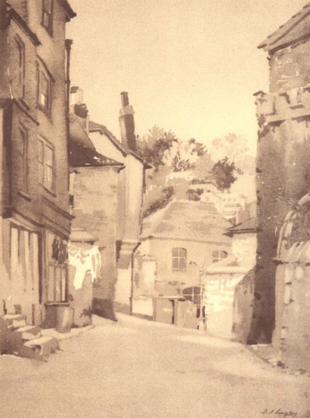 Associate Product DARTMOUTH. Church Close. Devon. By SS Longley 1949 old vintage print picture