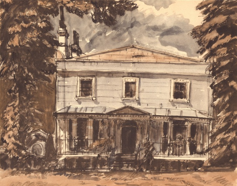 Associate Product TUNBRIDGE WELLS. House, Mount Ephraim. Kent. By GW Hooper 1949 old print