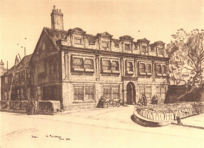 Associate Product DOVER. Maison Dieu House. Kent. By W Fairclough 1949 old vintage print picture