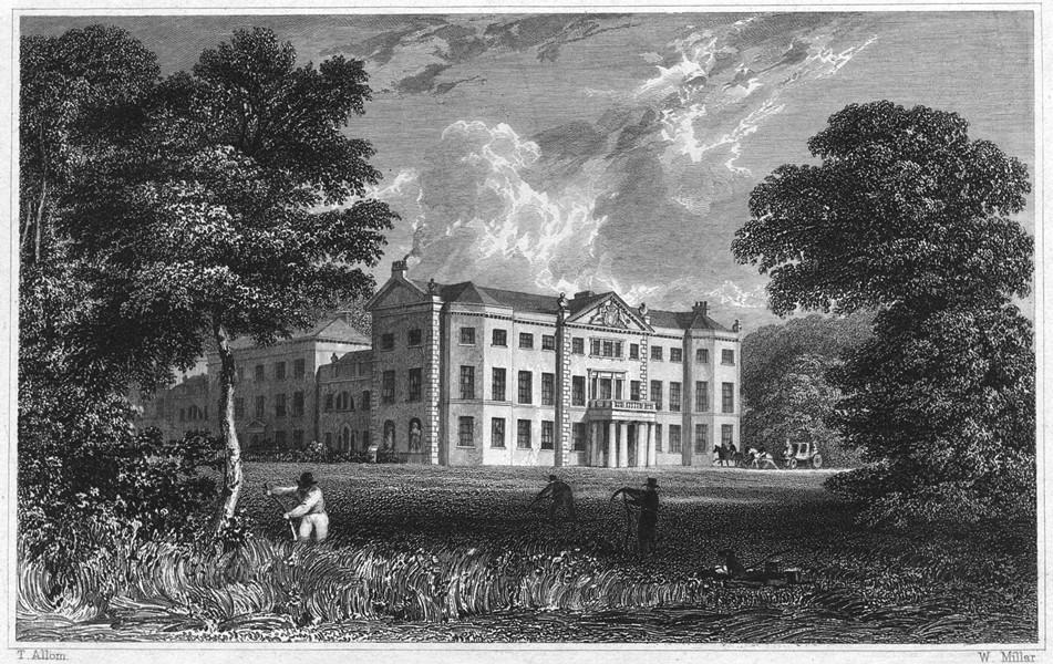 Associate Product DEVON. Saltram House (The seat of John Parker, Earl of Morley DCL FRS) 1829