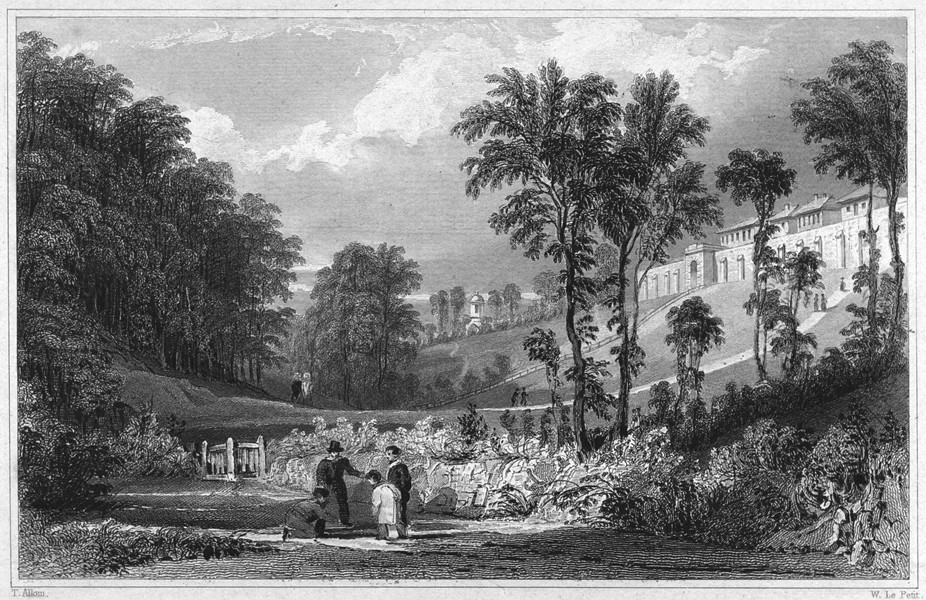 Associate Product DEVON. The House of Correction for the County of Devon, Exeter.Prison Jail 1829