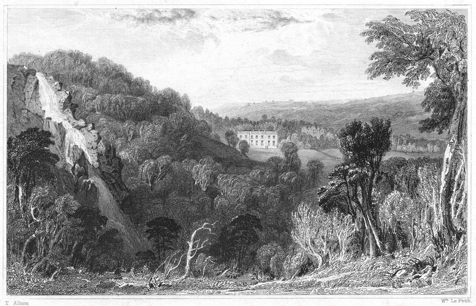 Associate Product DEVON. Canonteign House (Seat of the Hon Pownoll Bastard Pellew, Capn RN) 1829