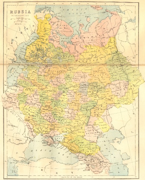 Associate Product RUSSIA. St Petersburg 1871 old antique vintage map plan chart