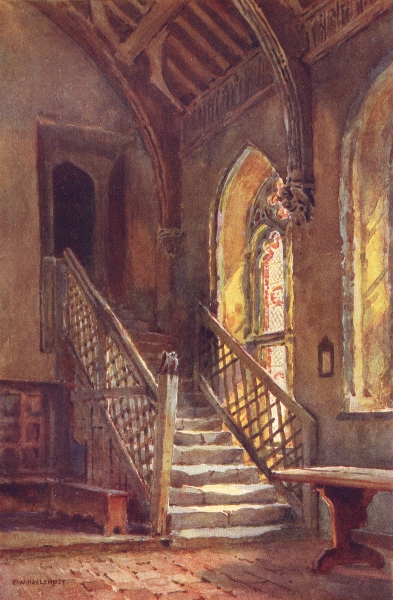 Associate Product The Brethren's Hall, St. Cross, Winchester. Hampshire. By Ernest Haslehust 1920
