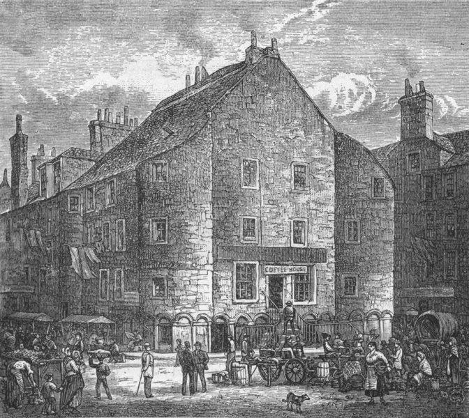 Associate Product SCOTLAND. Dundee. Drummond Castle 1898 old antique vintage print picture