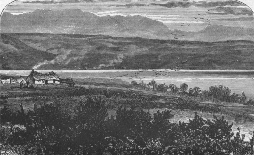 Associate Product SCOTLAND. Great Glen of. Culloden Moor 1898 old antique vintage print picture