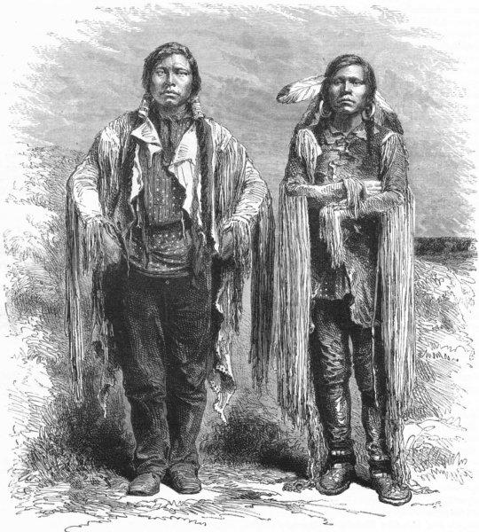 Associate Product MOUNT RAINIER. Ascent of. Indians North-west 1880 old antique print picture