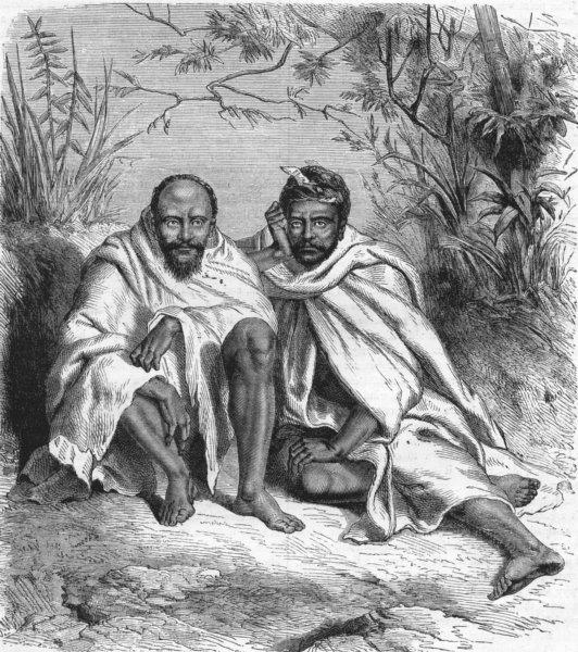 INDIA. Jayanti. Men 1880 old antique vintage print picture