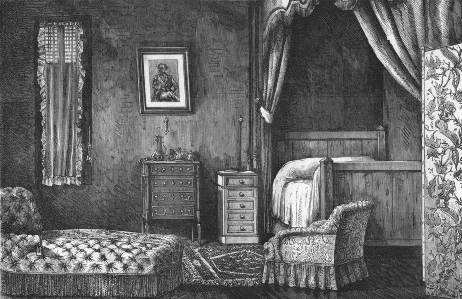 Associate Product SEINE-MARITIME. Puys cite de limes. Chambre est mort Alexandre Dumas, a 1880