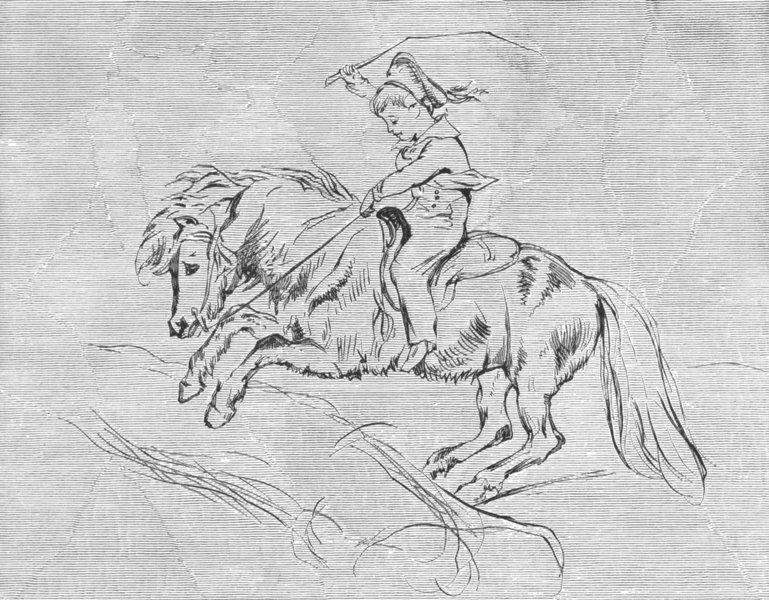 PEERS. Lord Alexander Russell, Emerald-Landseer c1880 old antique print