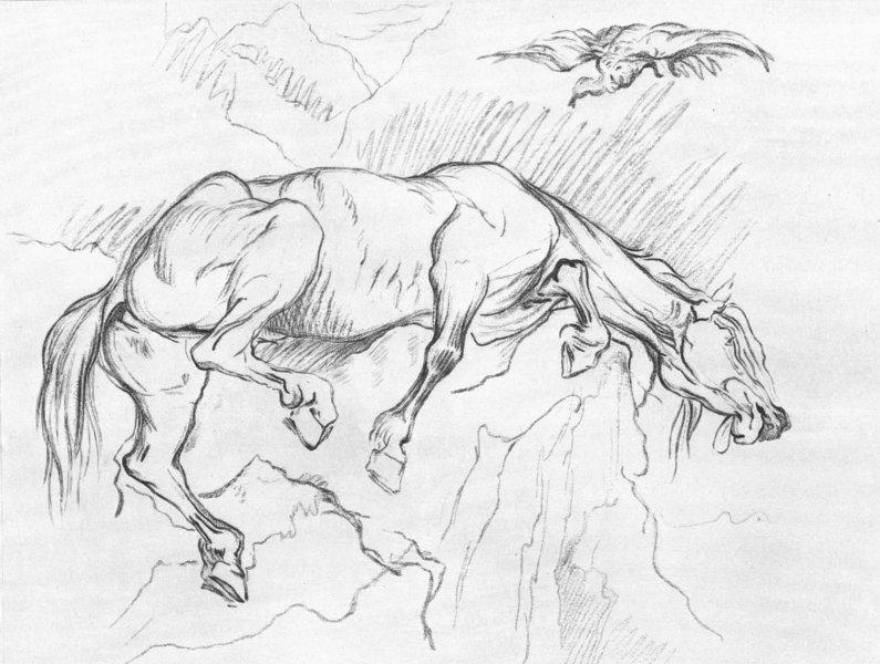 Associate Product HORSES. Example 8-Landseer c1880 old antique vintage print picture