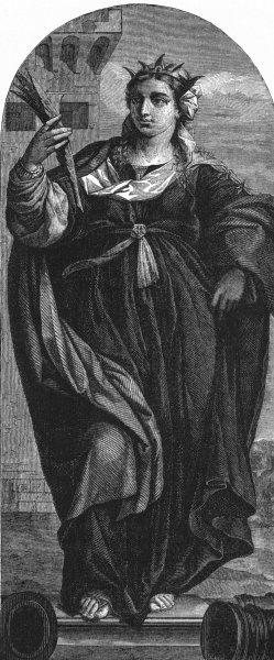 Associate Product VENICE. Sta Barbara-Palma Vecchio-Maria Formosa 1880 old antique print picture