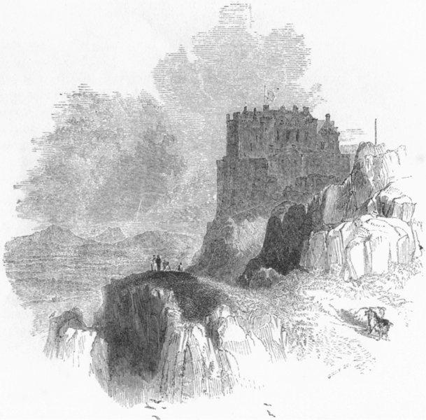 Associate Product SCOTLAND. Stirling 1845 old antique vintage print picture