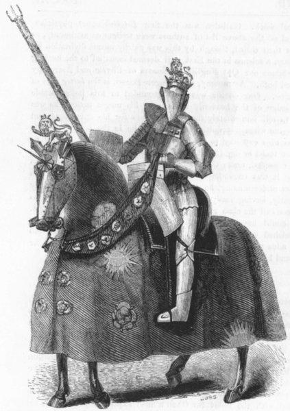 Associate Product KINGS. Edward IV 1845 old antique vintage print picture